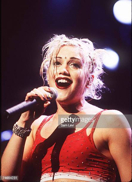 Gwen Stefani of No Doubt at the Atlas Supper Club in Anaheim, California