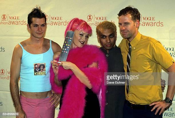 Gwen Stefani of No Doubt at VH-1 Vogue Fashion Awards, New York, December 5, 1999.