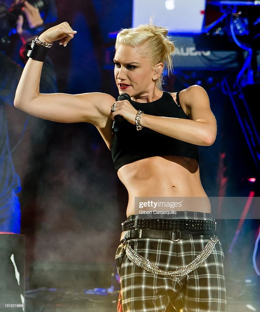 Gwen Stefani of No Doubt performs during the 2012 NFL Kick-Off Concert in Rockefeller Center on September 5, 2012 in New York City.