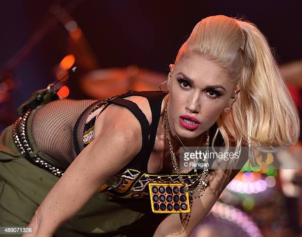 Gwen Stefani of No Doubt performs during the 2015 KAABOO Del Mar at the Del Mar Fairgrounds on September 18 2015 in Del Mar California