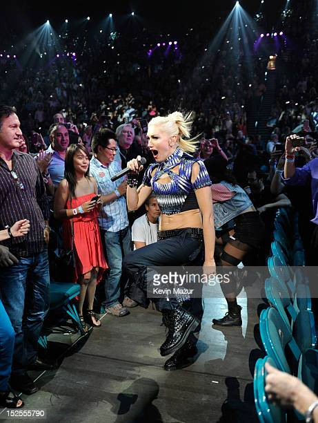 Gwen Stefani of No Doubt performs onstage during the 2012 iHeartRadio Music Festival at MGM Grand Garden Arena on September 21, 2012 in Las Vegas,...
