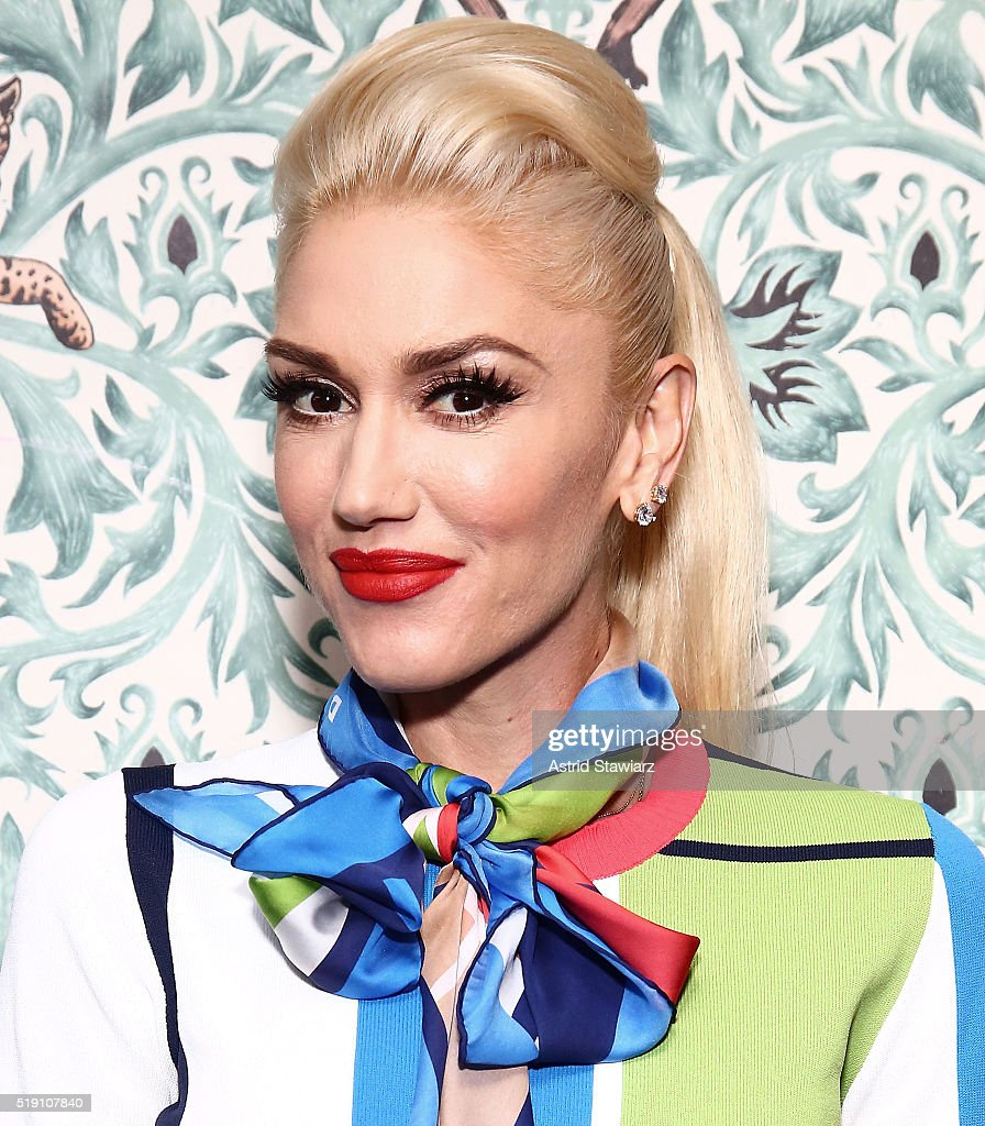 Gwen Stefani Visits LinkedIn For Interview With Daniel Roth : News Photo
