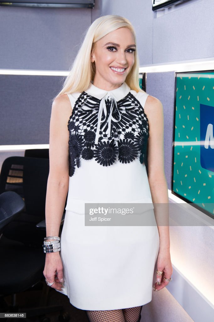 Gwen Stefani Visits Magic Radio : News Photo