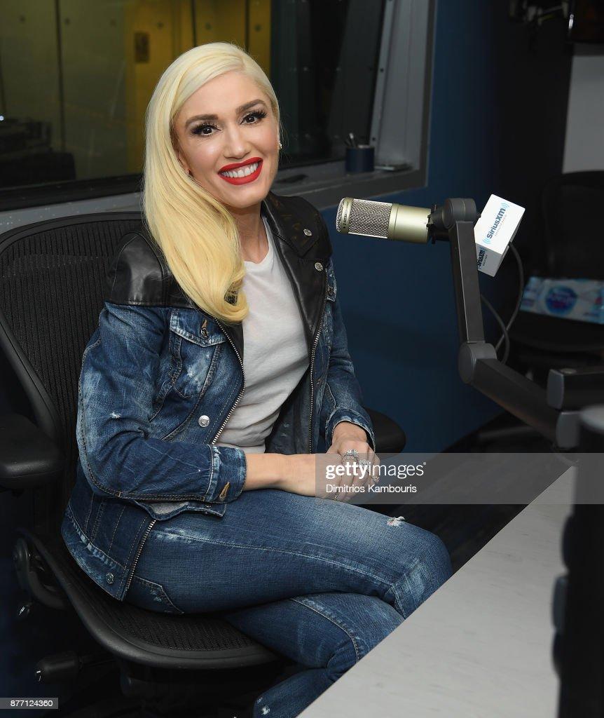 Gwen Stefani Visits SiriusXM - November 21, 2017