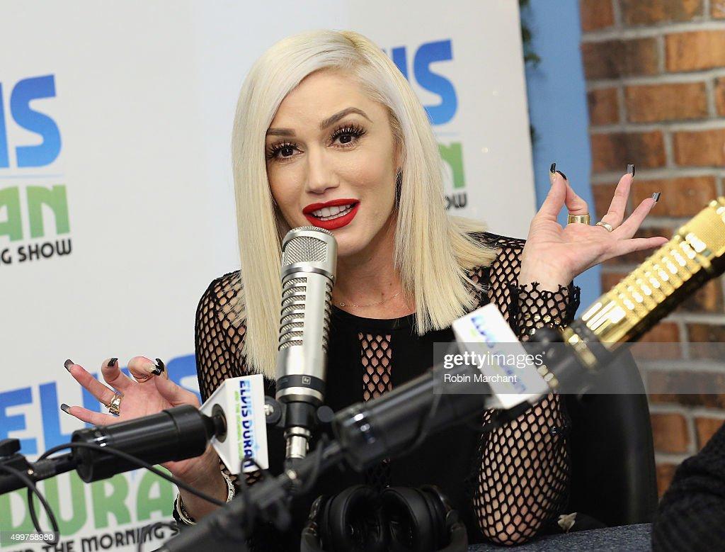 """Gwen Stefani Visits """"The Elvis Duran Z100 Morning Show"""""""