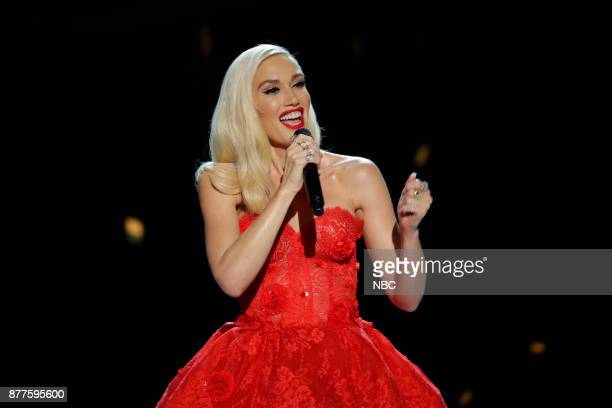 CHRISTMAS 'Gwen Stefani You Make It Feel Like Christmas' Pictured Gwen Stefani