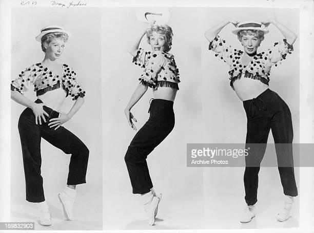 Gwen Verdon publicity portrait for the film 'Damn Yankees' 1958