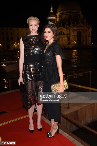 Gwendoline Christie and Marie Nasemann attended JOHNNIE WALKER GOLD LABEL RESERVE and Vanity Fair's glamourous event during the Venice Film Festival...