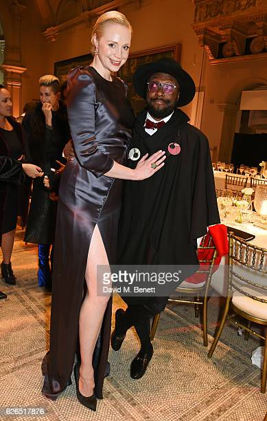 Gwendoline Christie and william attend as PORTER hosts a special performance of Letters Live in celebration of their Incredible Women of 2016 at The...