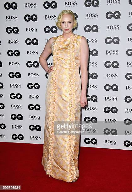 Gwendoline Christie arrives for GQ Men Of The Year Awards 2016 at Tate Modern on September 6 2016 in London England