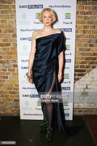 Gwendoline Christie attends Dame Vivienne Westwood and James Jagger's Mad Max party in aid of climate change during London Fashion Week February 2017...