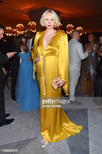 Gwendoline Christie attends the 2018 Netflix Primetime Emmys After Party at NeueHouse Hollywood on September 17 2018 in Los Angeles California