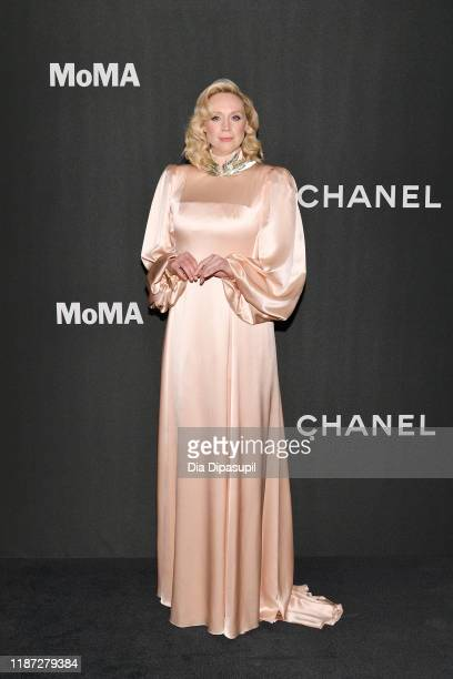 Gwendoline Christie attends the 2019 Museum Of Modern Art Film Benefit A Tribute To Laura Dern at the Museum of Modern Art on November 12 2019 in New...