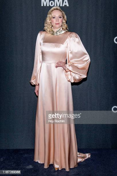 Gwendoline Christie attends the 2019 Museum Of Modern Art Film Benefit A Tribute To Laura Dern at Museum of Modern Art on November 12 2019 in New...