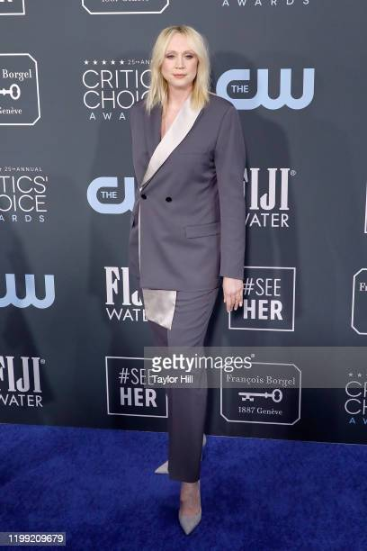 Gwendoline Christie attends the 25th Annual Critics' Choice Awards at Barker Hangar on January 12 2020 in Santa Monica California