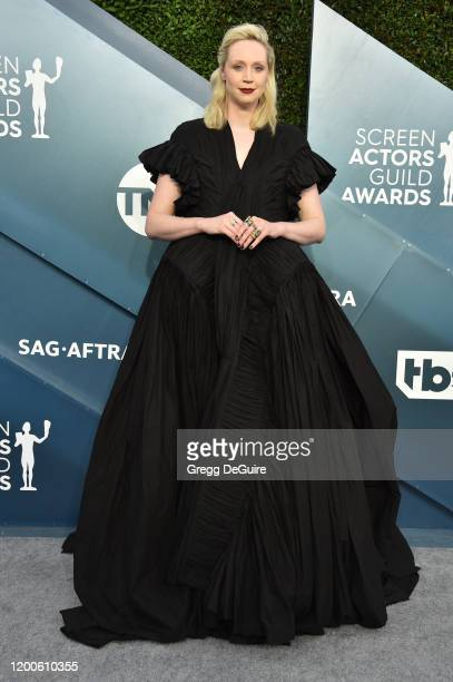 Gwendoline Christie attends the 26th Annual Screen ActorsGuild Awards at The Shrine Auditorium on January 19, 2020 in Los Angeles, California. 721430