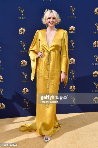 Gwendoline Christie attends the 70th Emmy Awards at Microsoft Theater on September 17 2018 in Los Angeles California