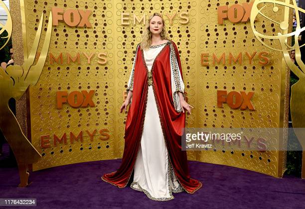 Gwendoline Christie attends the 71st Emmy Awards at Microsoft Theater on September 22 2019 in Los Angeles California