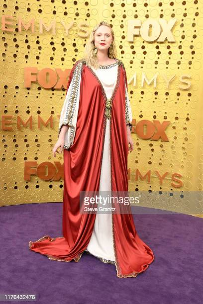 Gwendoline Christie attends the 71st Emmy Awards at Microsoft Theater on September 22, 2019 in Los Angeles, California.