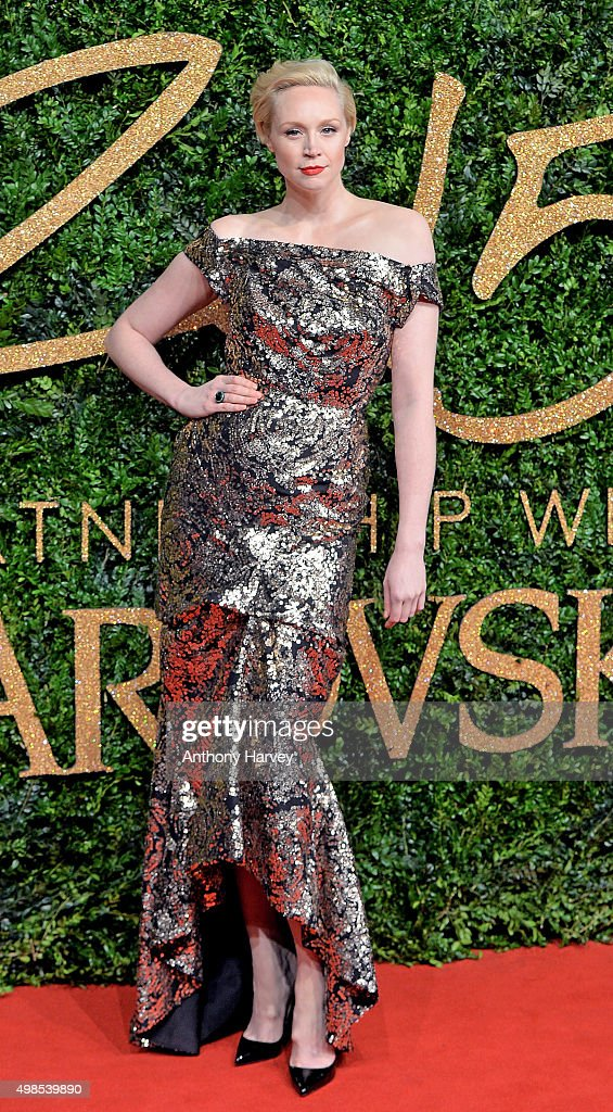 Gwendoline Christie attends the British Fashion Awards 2015 at London Coliseum on November 23, 2015 in London, England.