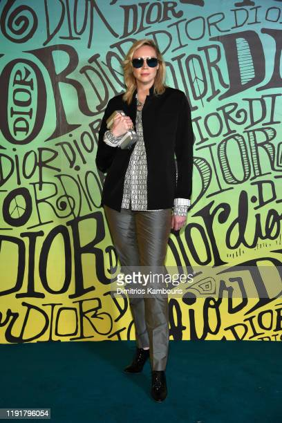 Gwendoline Christie attends the Dior Men's Fall 2020 Runway Show on December 03 2019 in Miami Florida