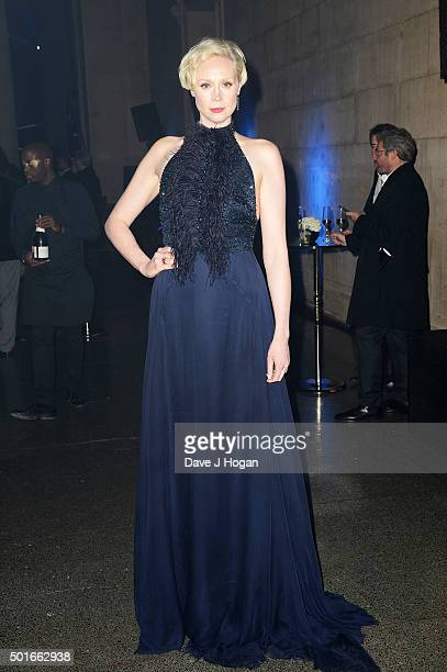 Gwendoline Christie attends the European Premiere of 'Star Wars The Force Awakens' After Party at Tate Britain on December 16 2015 in London England