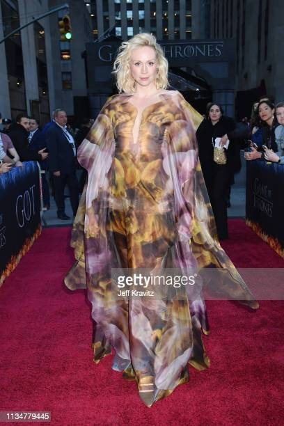 Gwendoline Christie attends the Game Of Thrones Season 8 NY Premiere on April 3 2019 in New York City
