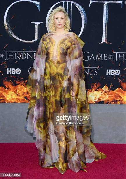 Gwendoline Christie attends the Game Of Thrones Season 8 Premiere on April 03 2019 in New York City