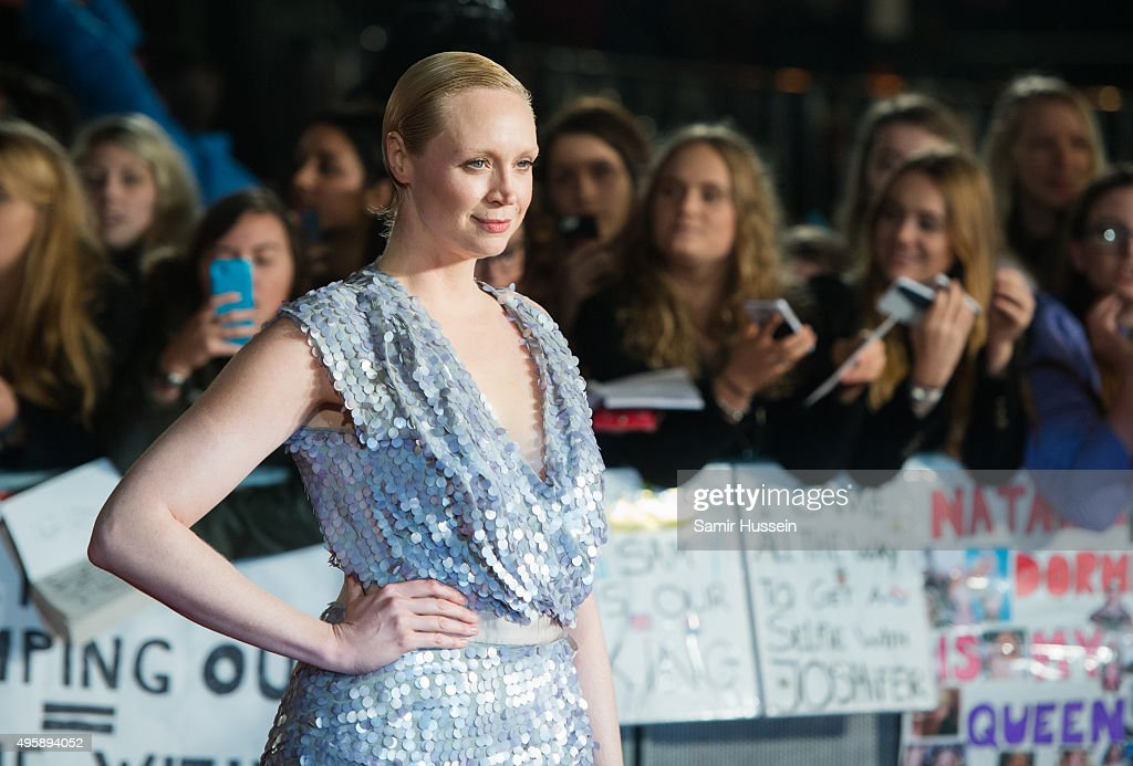 Gwendoline Christie Attends The Hunger Games Mockingjay