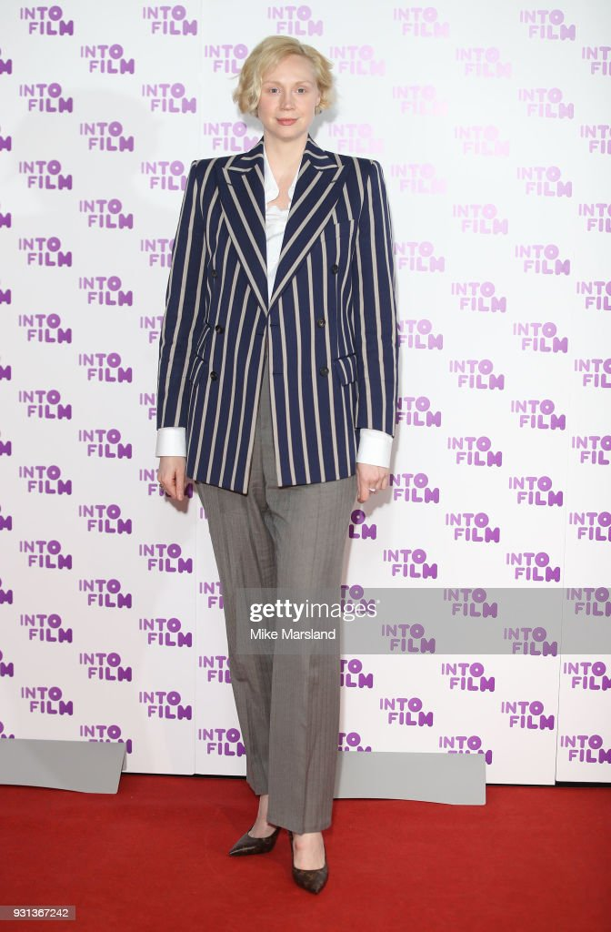 Gwendoline Christie attends the Into Film Awards at BFI Southbank on March 13, 2018 in London, England.