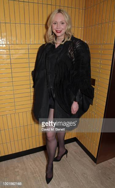 Gwendoline Christie attends the LOVE Magazine LFW Party celebrating issue 23 at The Standard London on February 17 2020 in London England LOVE...