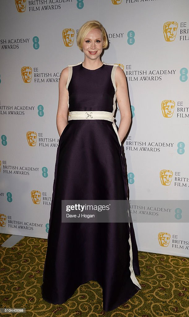 Gwendoline Christie attends the official After Party Dinner for the EE British Academy Film Awards at The Grosvenor House Hotel on February 14, 2016 in London, England.