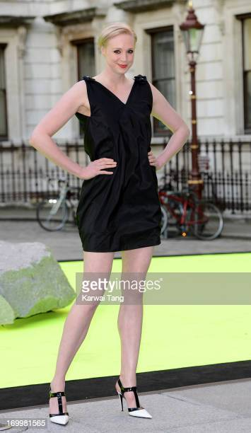 Gwendoline Christie attends the preview party for The Royal Academy Of Arts Summer Exhibition 2013 at Royal Academy of Arts on June 5 2013 in London...