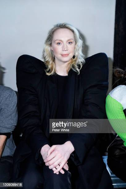 Gwendoline Christie attends the Rick Owens show as part of the Paris Fashion Week Womenswear Fall/Winter 2020/2021 on February 27 2020 in Paris France