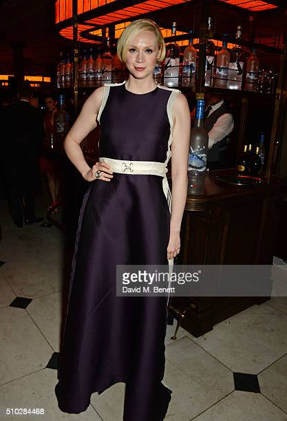 Gwendoline Christie attends The Weinstein Company Entertainment Film Distributors Studiocanal 2016 BAFTA After Party in partnership with BVLGARI GREY...