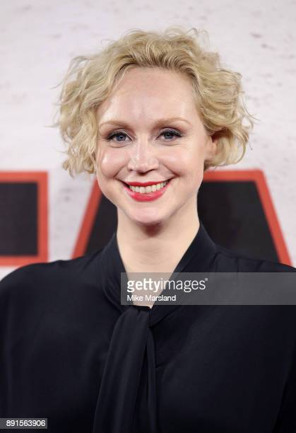 Gwendoline Christie during the 'Star Wars The Last Jedi' photocall at Corinthia Hotel London on December 13 2017 in London England