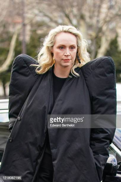 Gwendoline Christie English actress known for portraying Brienne of Tarth in the series Games of Thrones as well as Captain Phasma in Star Wars wears...