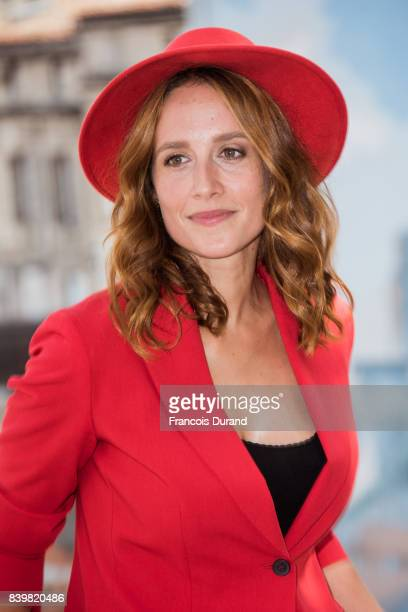 Gwendolyn Gourvenec attends the 10th Angouleme French-Speaking Film Festival on August 27, 2017 in Angouleme, France.