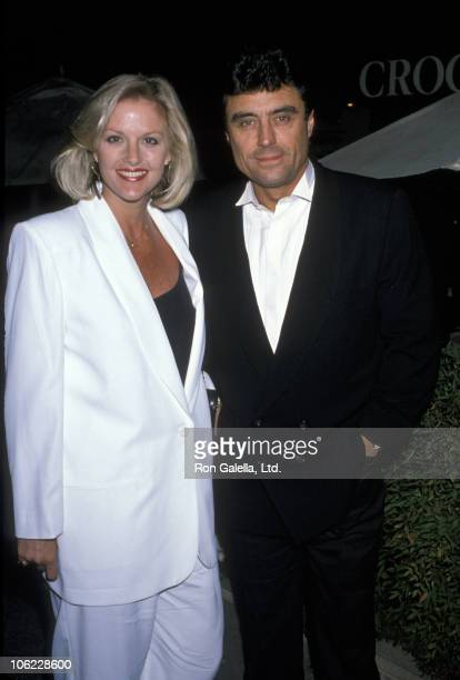 Gwendolyn Humble and Ian McShane during 'Sarah in America' Play Opening at Pasadena Playhouse in Pasadena California United States