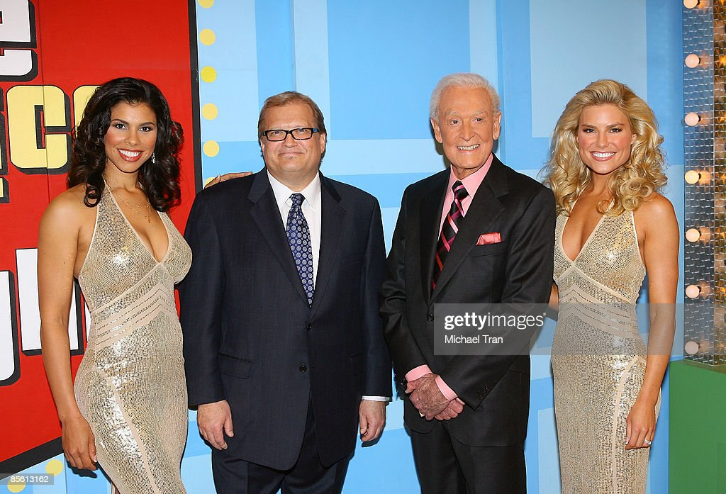 """""""The Price Is Right"""" with Special Appearance By Bob Barker : News Photo"""