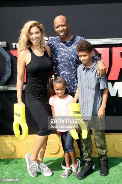 Gwendolyn Osborne London Olivia Smith Kenny Smith and Malloy Adrian Smith at the Premiere Of Warner Bros Pictures' The LEGO Ninjago Movie at Regency...