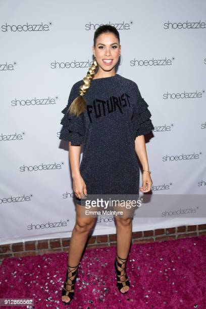 Gwendolyn OsborneSmith attends the 'ShoeDazzle X BarbieStyle party' on January 31 2018 in Los Angeles California