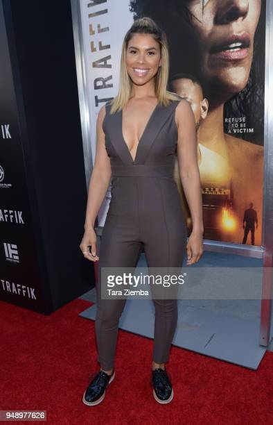 Gwendolyn Smith attends the premiere of Codeblack Films' 'Traffik' at ArcLight Hollywood on April 19 2018 in Hollywood California