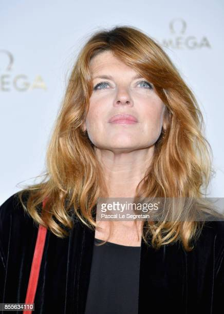 Gwenoline Hamon attends 'Her Time' Omega Photocall as part of the Paris Fashion Week Womenswear Spring/Summer 2018 on September 29 2017 in Paris...