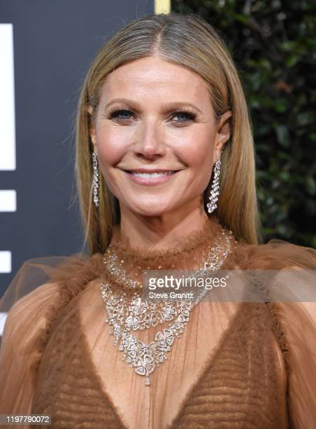 Gwenyth Paltrow arrives at the 77th Annual Golden Globe Awards attends the 77th Annual Golden Globe Awards at The Beverly Hilton Hotel on January 05,...