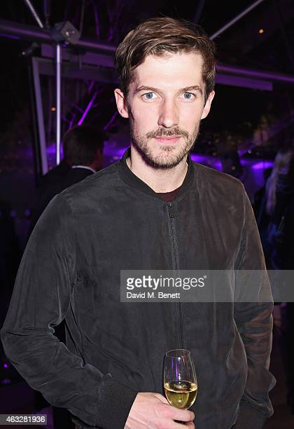 Gwilym Lee attends a cocktail party hosted by haircare brand John Frieda to celebrate the launch of their 2015 products at Oxo Tower Wharf on...