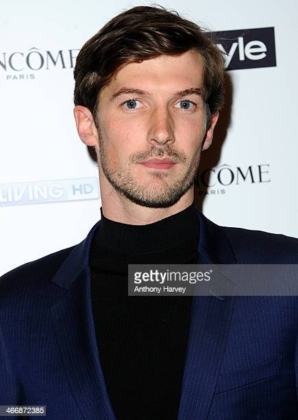 Gwilym Lee attends InStyle magazine's The Best of British Talent preBAFTA party at Dartmouth House on February 4 2014 in London England