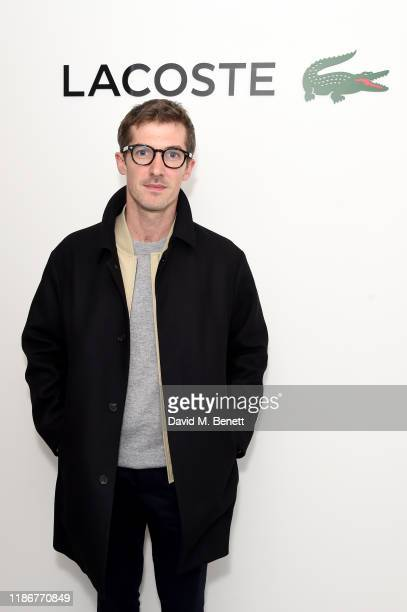 Gwilym Lee attends Lacoste VIP lounge at the 2019 ATP World Tour Tennis Finals on November 10 2019 in London England