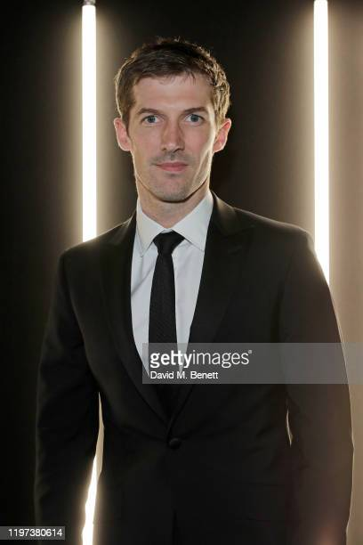 Gwilym Lee attends the dunhill Dylan Jones PreBAFTA dinner at dunhill Bourdon House on January 29 2020 in London United Kingdom