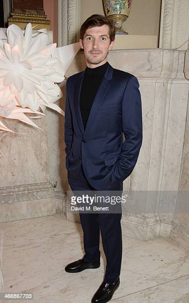Gwilym Lee attends the InStyle Best of British Talent party in celebration of BAFTA in association with Lancome and Sky Living at Dartmouth House on...